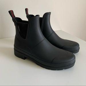 Tretorn Waterproof Chelsea Rain Boots Black Size 7